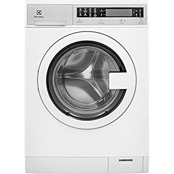 """Electrolux EIFLS20QSW 24"""" Compact Front Load Washer with 2.4 cu. ft. Capacity Jet Wash System 6 Wash Cycles 5 Temperature Settings 5 Soil Levels Touch Control Panel and Pull-to-Open Door Type in"""