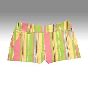 Loudmouth Golf Womens Mini Shorts: Pretty Boy - Size 6