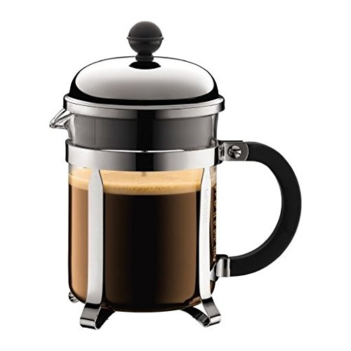 Bodum Chambord 4 Cup Coffee Maker 0.5L (17oz) - Shiny (Pack of 2)