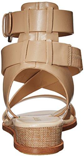 Nine West Women S Velope Leather Sandal Light Natural