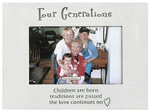 Ganz Four Generations Frame Holds 4 x 6