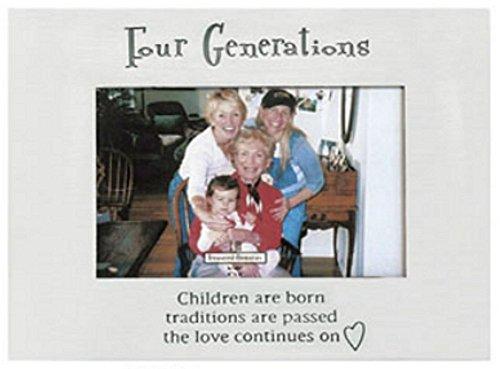 - Ganz Four Generations Frame Holds 4 x 6