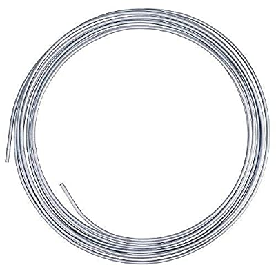 4LIFETIMELINES Stainless Steel Tubing Coil - 3/16, 25 Feet: Automotive