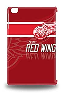 Hot Tpu Cover 3D PC Case For Ipad Mini/mini 2 3D PC Case Cover Skin NHL Detroit Red Wings Logo ( Custom Picture iPhone 6, iPhone 6 PLUS, iPhone 5, iPhone 5S, iPhone 5C, iPhone 4, iPhone 4S,Galaxy S6,Galaxy S5,Galaxy S4,Galaxy S3,Note 3,iPad Mini-Mini 2,iPad Air )
