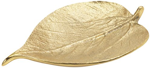 Decorative Dish Holiday Accent, Mulberry Leaf Shaped, Gold (Set of 4) - Ornament Gold Leaf