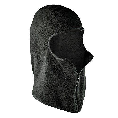 Outdoor Designs Silk Balaclava - Zanheadgear Black Micro-Fleece Balaclava with Zipper