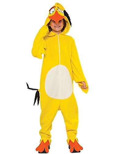 Rubie's Costume Kids Angry Birds Movie Chuck Costume, Small