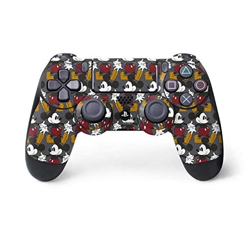 Skinit Vintage Mickey Mouse PS4 Controller Skin - Officially Licensed Disney Gaming Decal - Ultra Thin, Lightweight Vinyl Decal Protection