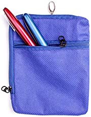 Glucology Insulin Cooling Wallet | Holds 5 insulin pens | Keeps pens cool for upto 36 hours (Blue) | Compact, Lightweight Carrying Kit - Fits 5 Injection Medication Pens