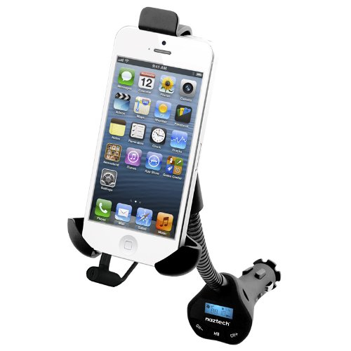 Naztech N3050 Universal Audio Transmitter and Charging Mount