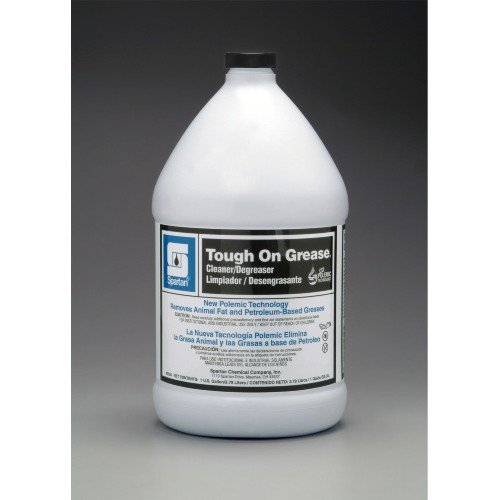 Spartan Tough on Grease Industrial Cleaner/Degreaser, Gallons,4 Per Case by SPARTAN