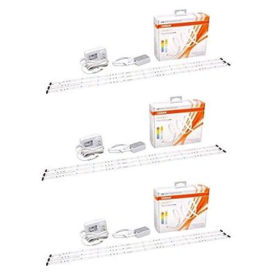 Sylvania Lightify Osram Flex RGBW LED Smart Connected Light Strips (3 Pack)