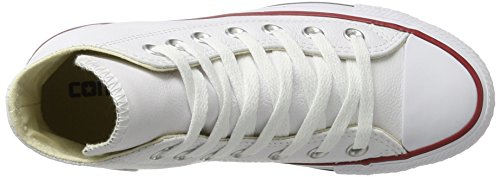 55 White Zapatillas Core 100 8 Blanco 236580 Ct unisex Hi Converse Lea 6wC0aXvnx