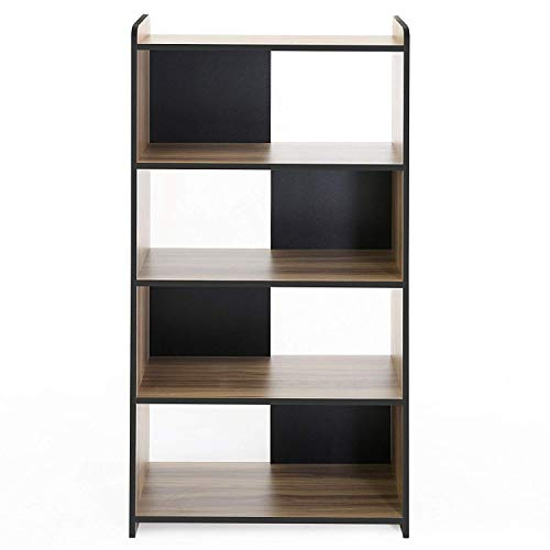 FITUEYES Cubeicals Bookcase Vertical Organizer Media Tower Storage Shelves CD Racks and Stands BBC506201WB from FITUEYES