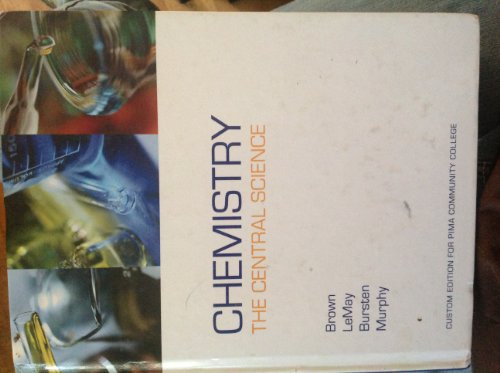 Chemistry the Central Science 0536259135 isbn 2006 Custom Ed 9780536259134 UPC