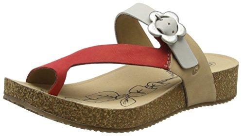 Josef Seibel Tonga 23 - Natural/Multi (Beige) Womens Sandals 8.5 US (Natural Tonga)
