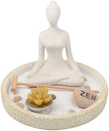 Jardín Zen Yoga Relajación Regalo Chica Estatuilla Kit Rastrillo Arena: Amazon.es: Hogar