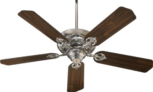 78525-65 Chateaux 5-Blade Energy Star Ceiling Fan with Reversible Blades, 52-Inch, Satin Nickel Finish