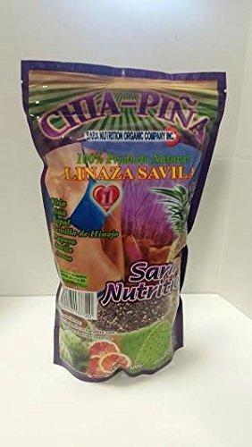Amazon.com: Sara Nutrición orgánico Company Chía piña ...
