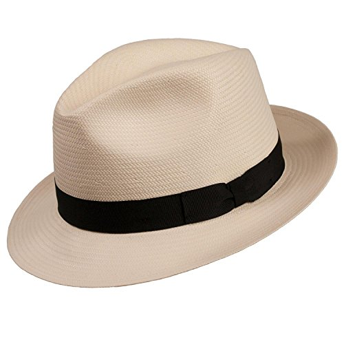 Centurion Fedora (Medium (fits 7 to 7 1/8), Natural) -
