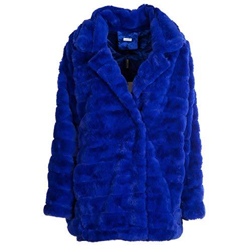 Taille Vialescarpe Unique Bleu Blouson Femme An4Wr1A