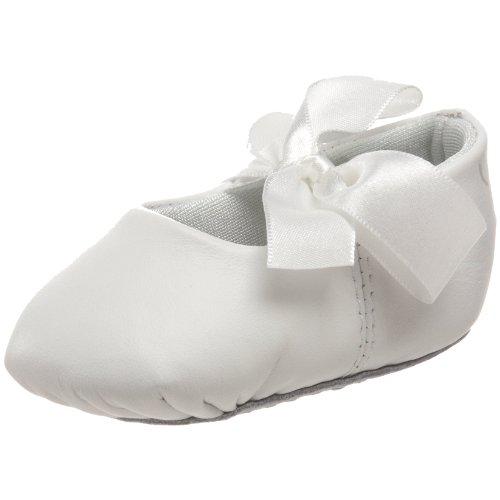 Baby Deer 4164 Sabrina Ballet Flat (Infant/Toddler),White,1 M US Infant - Baby Leather White Deer