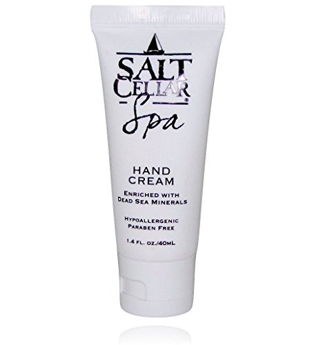 Salt Cellar Spa Dead Sea Hand Cream, Enriched With Glycer...