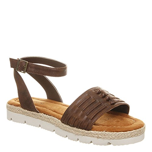 US BEARPAW B Brown 9 Women's M Aubree Sandal Dark YrPqYw