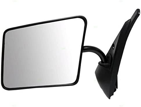 Chevy S10 Blazer Pickup Truck Black Manual Rear View Mirror Left Driver Side LH