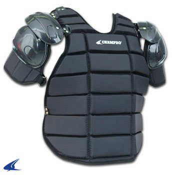 CHAMPRO Deluxe Umpire Inside Protector (Black, X-Large) by CHAMPRO