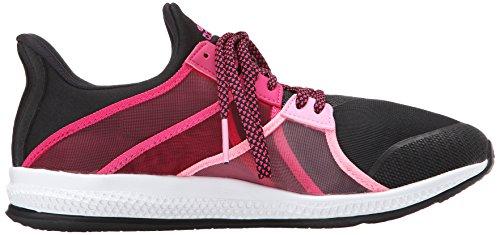 Zapato Adidas Performance Gymbreaker Formación de rebote Black/Metallic Silver/Shock Pink