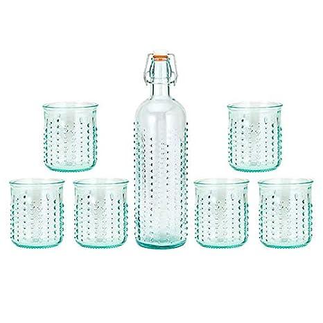 Amazon.com: Amici Home 7AJ724AS7R - Juego de botellas de ...
