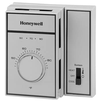 honeywell t651a3018 heat cool thermostat programmable Honeywell T651a2028 Wiring Diagram honeywell thermostat line voltage snap action