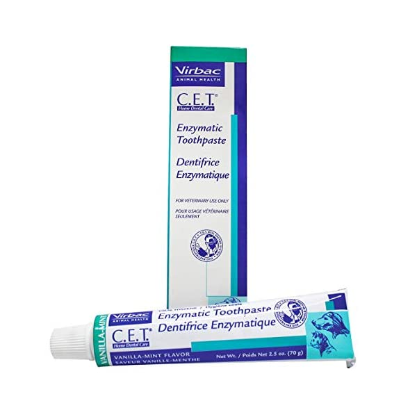 Virbac CET Vanilla/Mint Toothpaste, 70 gm 1