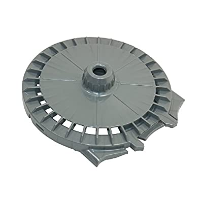 Genuine DYSON DC07 Vacuum Steel Colour Post Filter Lid 90334405 903344-05