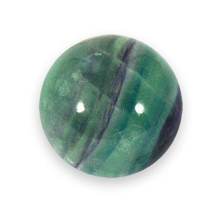 Rainbow Fluorite Crystal Sphere ~2.5cm