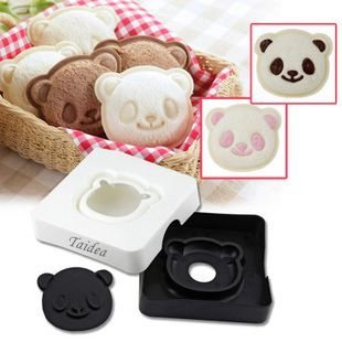 Astra Shop Super Cute Panda Sandwich Cutter / Bread Cutter, Hand Tools Sandwich Kit / Food Deco, Sandwich Mold, Sandwich Maker, Toast Mold Mould / Enjoyable DIY Tool, All Kids Love It! (Panda Bread Cutter compare prices)