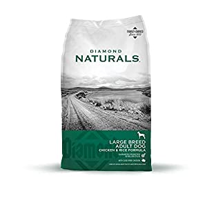 Diamond Naturals Adult Large Breed Real Meat Recipe Premium Dry Dog Food With Real Cage Free Chicken 40Lb 57