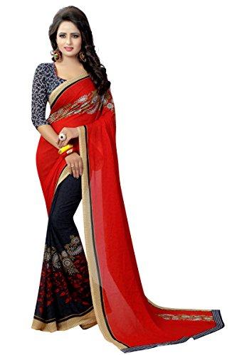 Georgette Indian Sari - 2