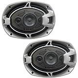 Absolute BLS-6904 Blast Series 6 x 9 Inches 4 Way Car Speakers 800 Watts Max Power