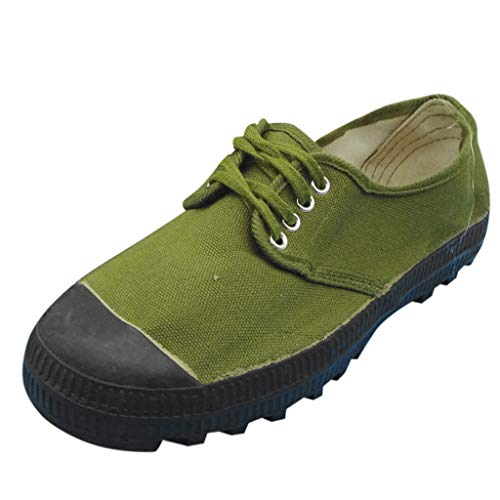 2020 Old Vine - 〓COOlCCI〓2019 Womens Ankle Flat Suede Lace-up Sport Shoes Walking Running Casual Fashion Sneakers Canvas Shoes Loafers Army Green