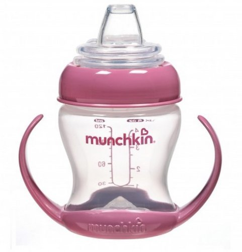 Munchkin Flexi Transition Trainer Cup Pink