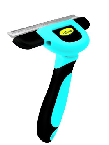 DakPets Deshedding and Light Trimming Tool, Blue