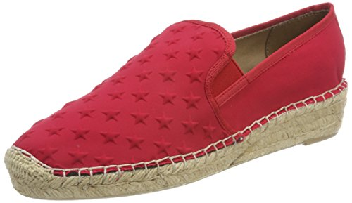Rouge Red Hilfiger 611 Femme Espadrilles Slip Tommy Corporate Tango qxZO7fwAw