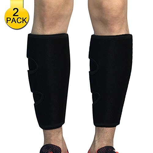 Calf Compression Sleeve 2 Pack-Calf Brace Shin Support for Sport Travel Runing Basketball Football-Leg Compression Sleeves for Women Men by HOPEFORTH