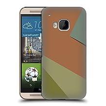Official Magdalena Hristova Orange 6 Clean Lines Hard Back Case for HTC One M9