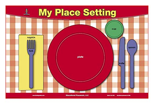 Table Setting & Manners Placemat (Settings Tables)