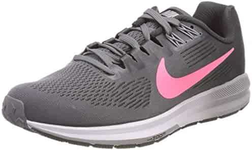 209960ec6f56 Nike Women s Air Zoom Structure 21 Running Shoe Gunsmoke Sunset  Pulse-Anthracite 7.0