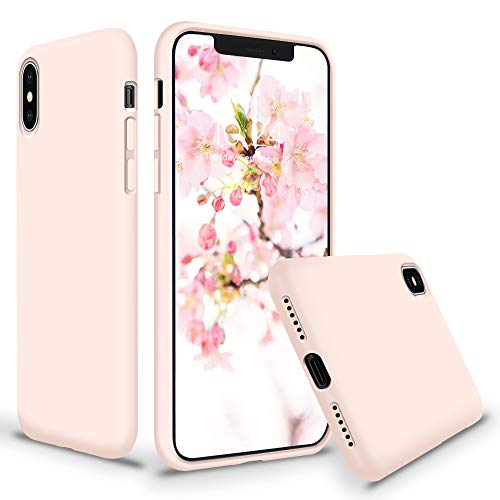 (SURPHY Silicone Case for iPhone Xs Max, Thicken Liquid Silicone Shockproof Protective Case Cover (Full Body Thick Case with Microfiber Lining) Compatible with iPhone Xs Max 6.5