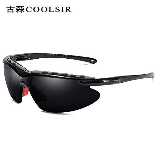 Miroir pour Polarized Half Soleil sunglasses nbsp;Coloré Lunettes Homme Polariseur Frame Lunettes A nbsp;Sport d'alpinisme Mjia Sport Black box de De xIqqYP